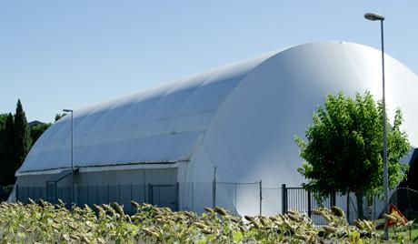 Foto dell'impianto sportivo di Montecosaro