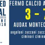 Serie D – L'Audax passa a Fermo nella prima del 2018
