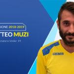 Matteo Muzi promosso allenatore della nuova Under 19